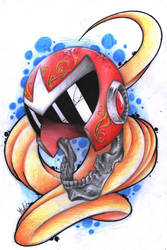 Protoman (I stand alone, but I will not be broken. by Angel6fdeath
