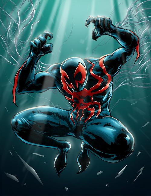 Spiderman 2099 by jlcomix