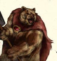 Bear...guy by jlcomix