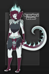 Gravelord Neeko Concept Art by TayMalerei