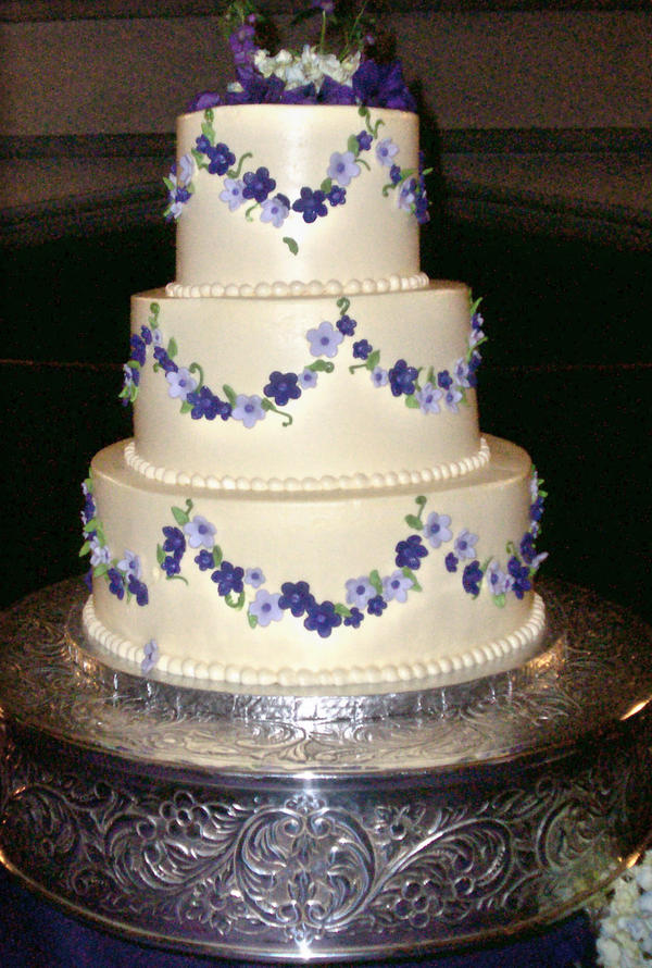 Simple Wedding Cake by Roguefairy on DeviantArt Beautiful Fairy Pictures