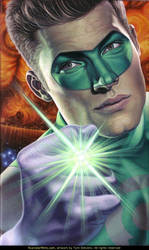 Tym Stevens Art: GREEN LANTERN by TymStevens