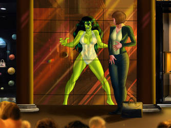 Soon, the She-Hulk will be back... by marston004