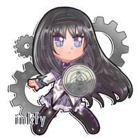 Madoka Magica Chibis - Homura Akemi