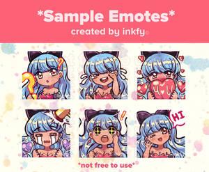 Mimi Emotes (MY OC)