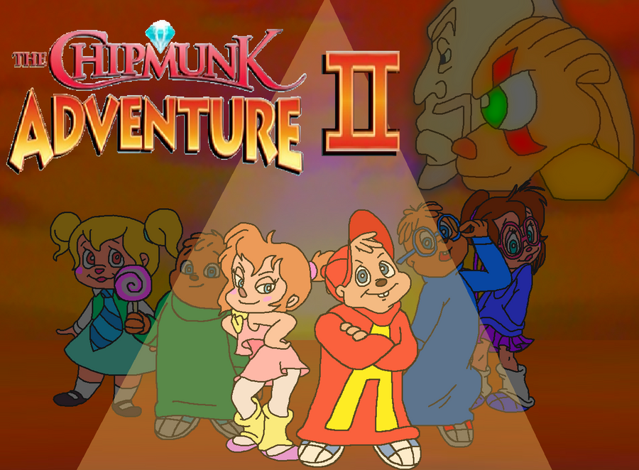 The Chipmunk Adventure 2 Cover By Leduc-gallery On DeviantArt