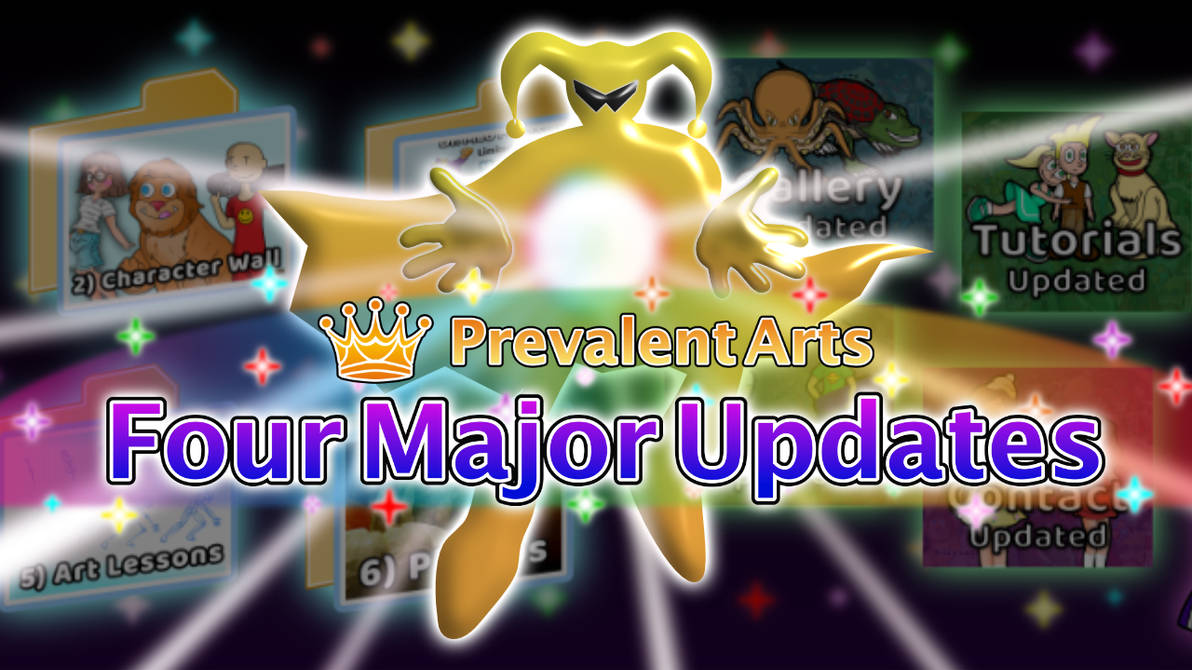 Four Major Updates Cover