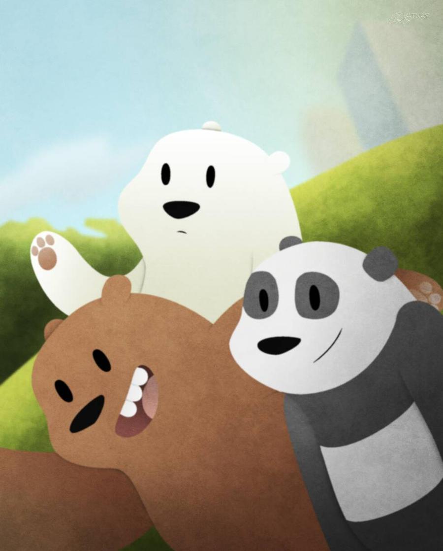 We Bare Bears. By Katnay On DeviantArt