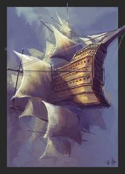 Sail by wlop