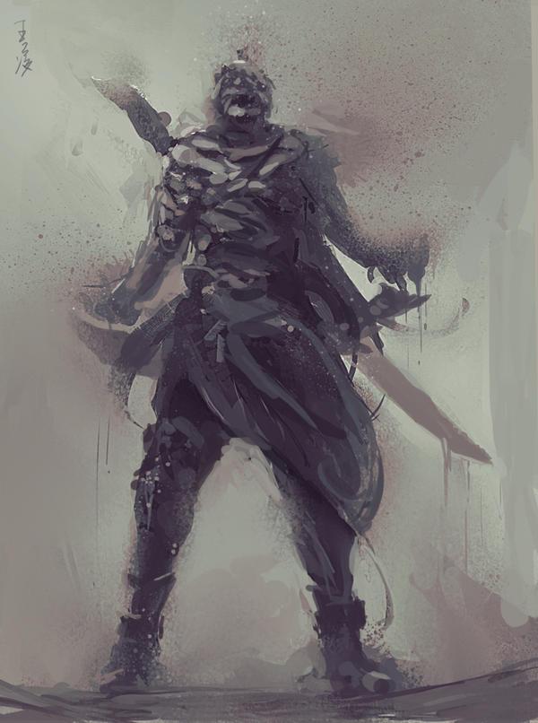 Ghostblade By Wlop On Deviantart