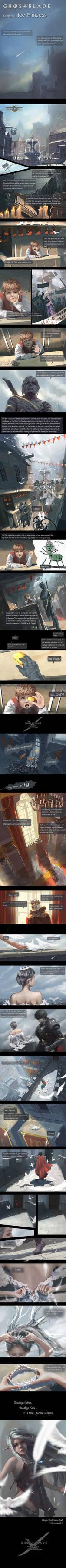 GhostBlade - Chapter 1 : Ice Princess
