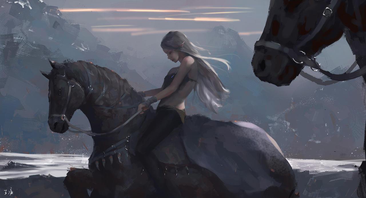 journey by wlop