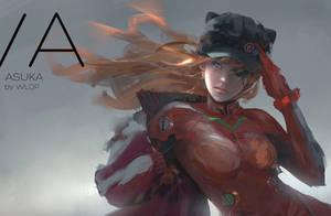 Asuka by wlop