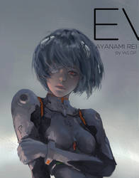 Ayanami Rei by wlop