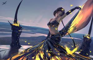 Aeolian dance