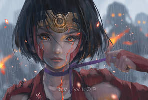 Mumei by wlop