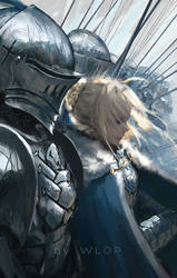 Saber Lancelot