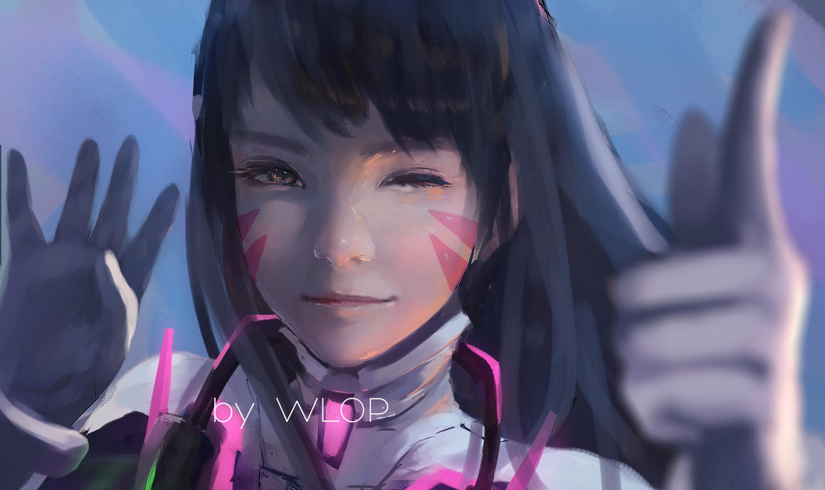 Dva by wlop on deviantart for Deviantart wlop