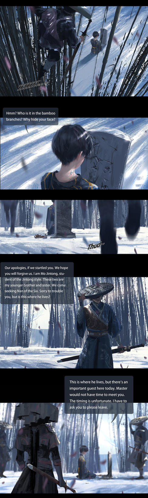 GhostBlade Chapter 7: Heaven Sword (page 4) by wlop