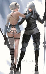 Nier DLC outfit by wlop