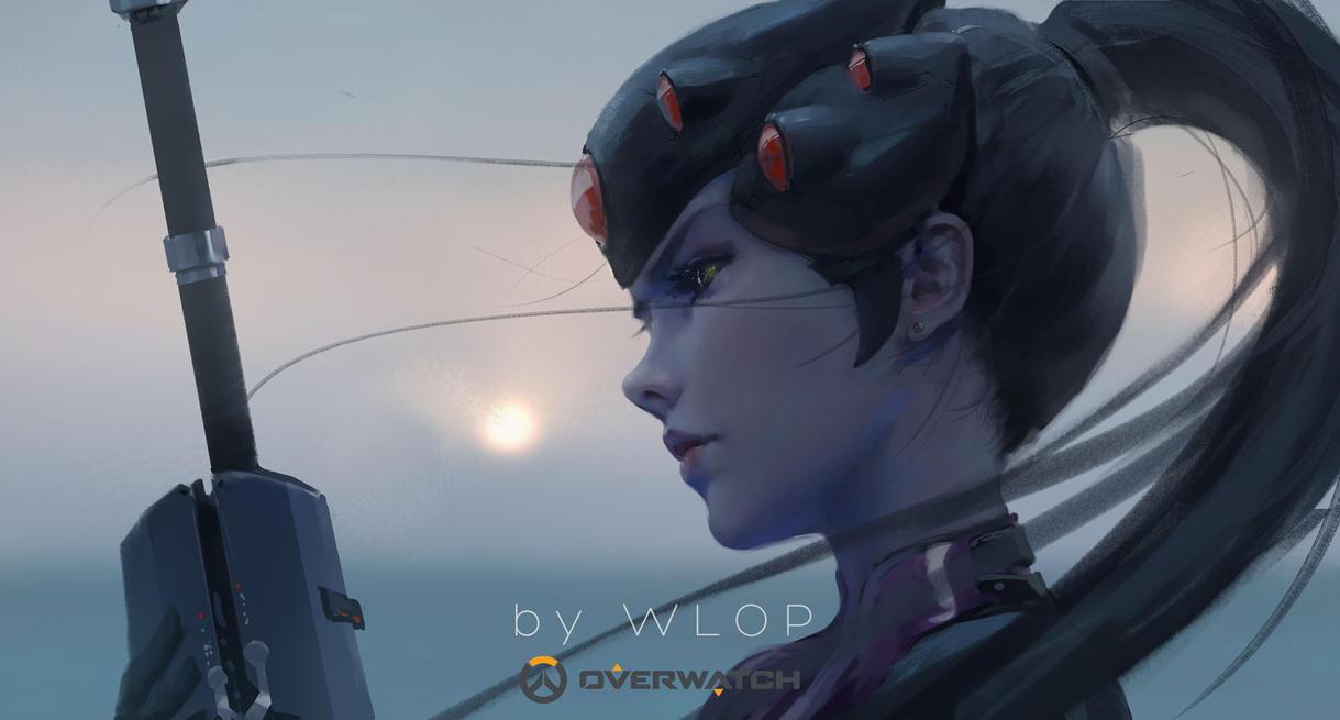 Widowmaker By Wlop On Deviantart
