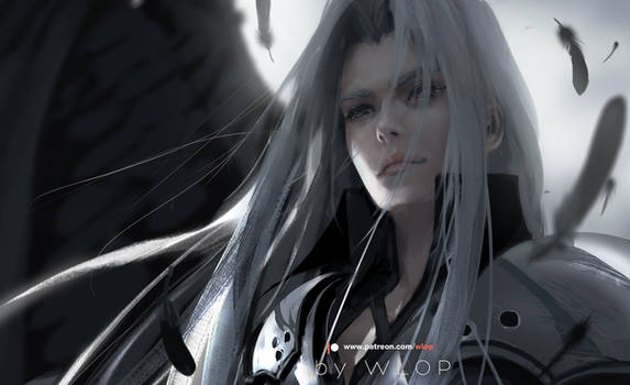 Sephiroth by wlop