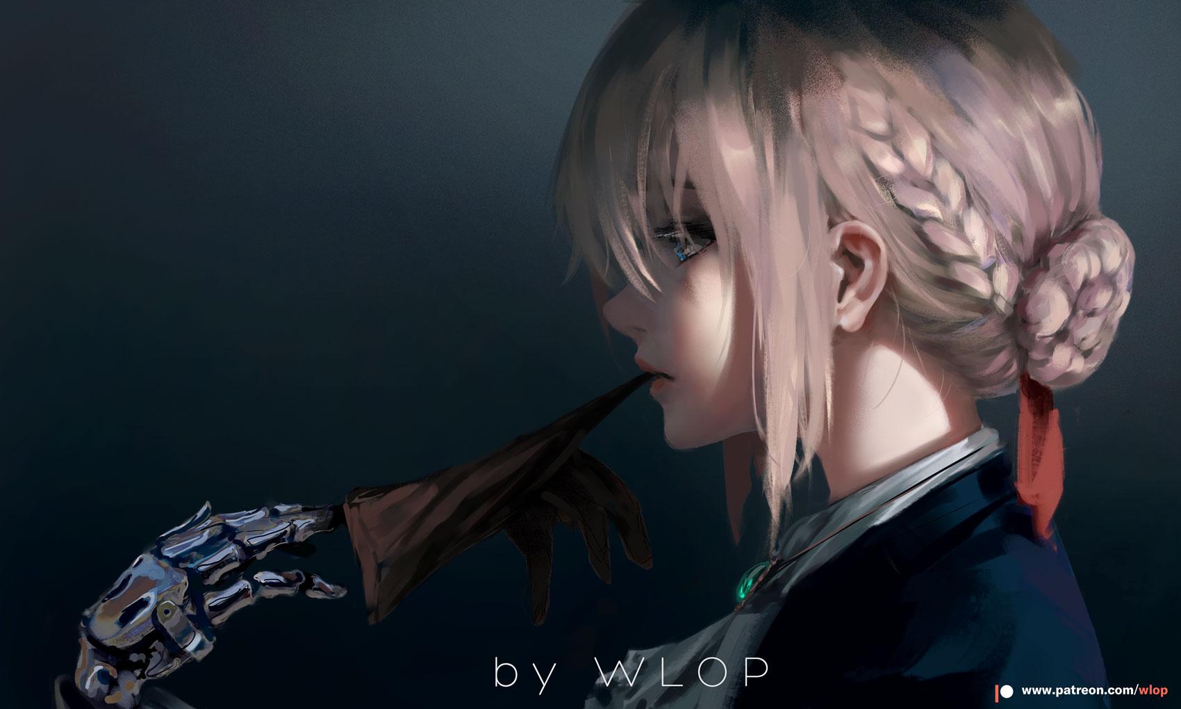 Violet Evergarden 2 by wlop