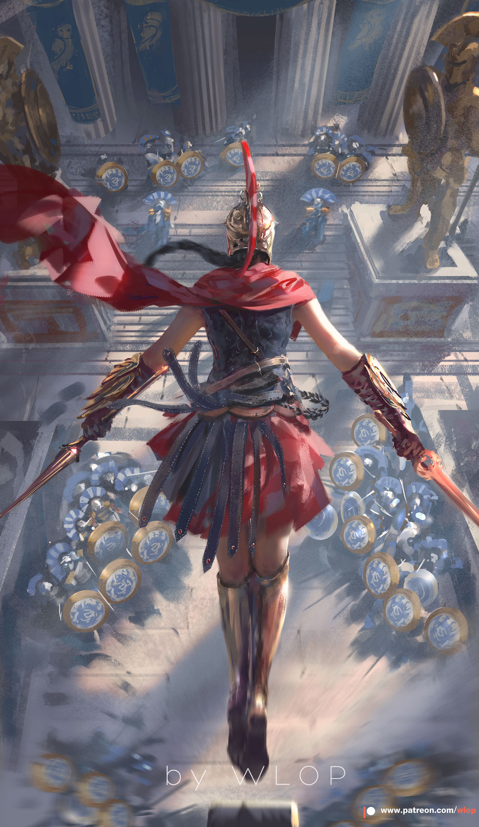 Assassin S Creed Odyssey By Wlop On Deviantart