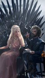 Lyanna Targaryen by wlop