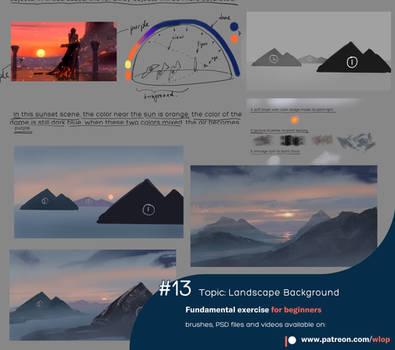#13 Landscape Background