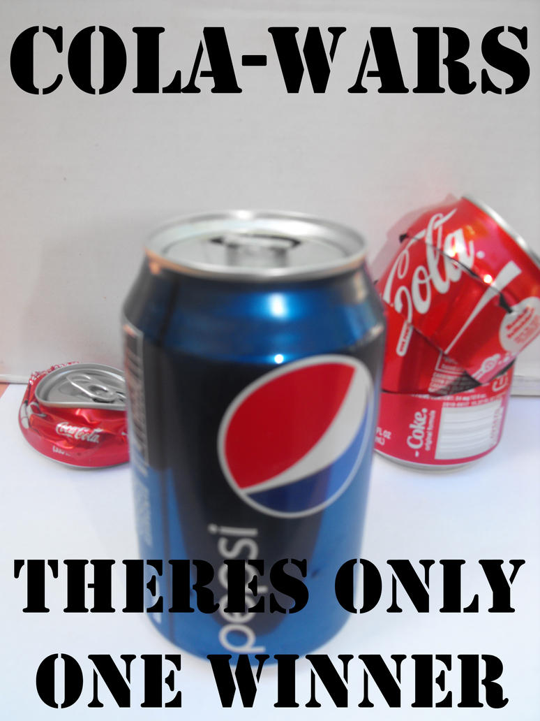 cola wars coke and pepsi When most people think about rivalries in the carbonated beverage industry, they think of the cola wars, the never-ending battle for market supremacy between coca-cola and pepsico especially, as well as dr pepper snapple and a host of other smaller rivals.