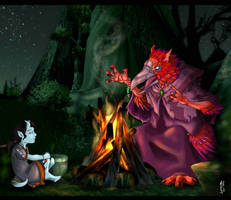 Storytime by micer