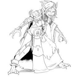 BW Troll Warlock by micer