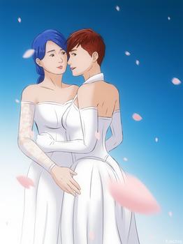DBH - Wedding Day [Traci x Traci]