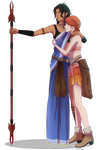 Pairing #29 - Fanille [Final Fantasy XIII] by Kaschra