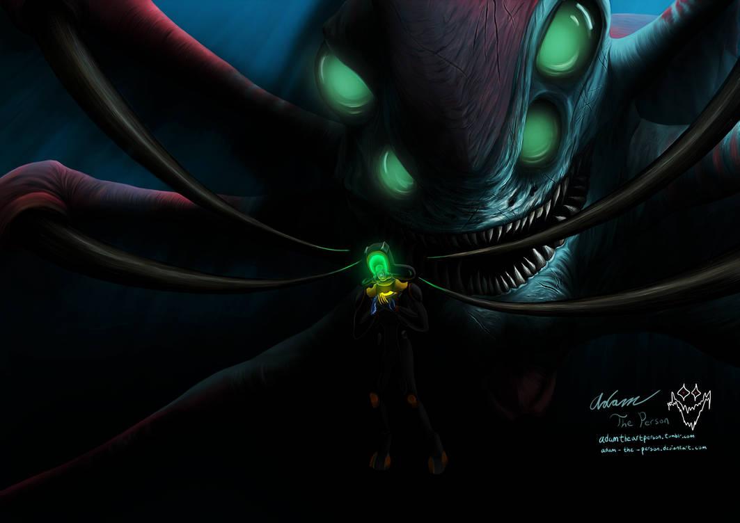 When The Reaper Comes Calling [SUBNAUTICA Fanart]