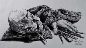 An Artist's Labor [Pencil Still-Life]