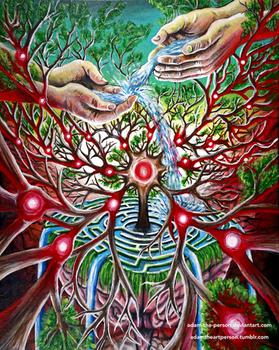 Emergence of Mind [Acrylic Painting]