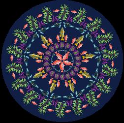 Fishy Mandala [Digital Graphic Design]