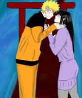 Naruto and Hinata by Shaolinrachel