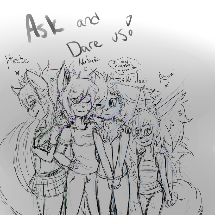 AJH : New Ask and Dare Us! : by xXAnoukFluffButtXx