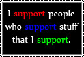 It's a Support Stamp by Shadowslide