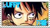 luffy stamp by Luffys-Gurl