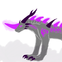 Somnus: Nightmare Dragon by NE0-Adopts