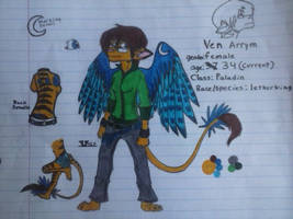 Ven Arrym full reference sheet by NE0-Adopts