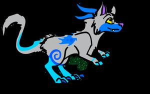 Jutzi Adoptable: Frozen Dragon OPEN by NE0-Adopts