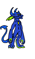 Custom Brawler Dragon: Elf-Cat by NE0-Adopts