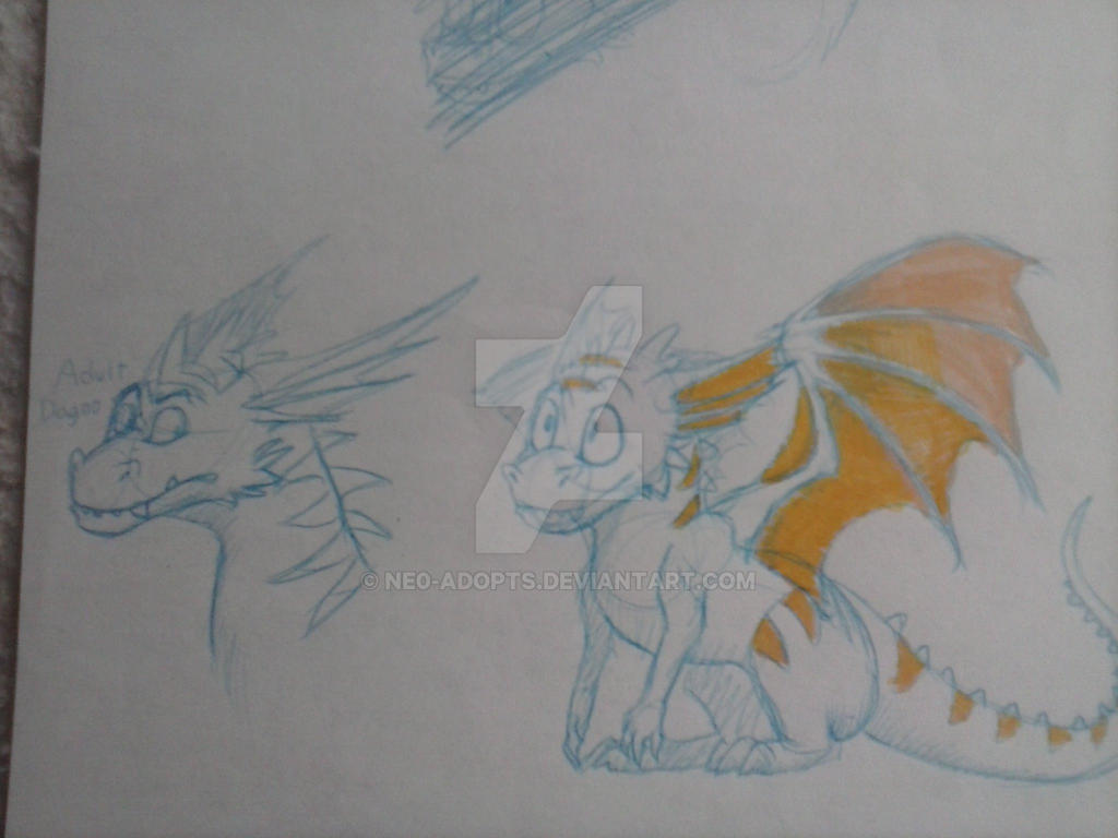 Some Dagno Doodles by NE0-Adopts
