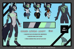 Horse Anthro Adopt: KEEPING by NE0-Adopts