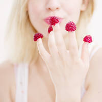 Raspberries by JustHoldMe
